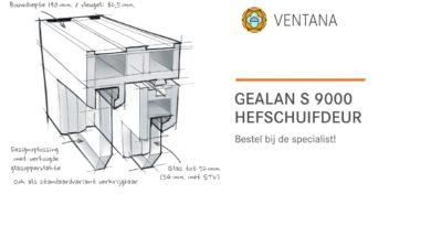 Ventana | Hefschuifdeur S9000