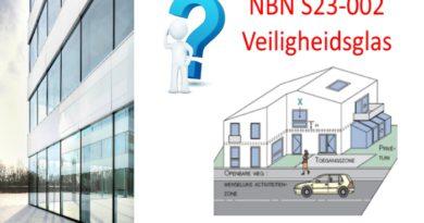 Veiligheidsbeglazing NBN S23-002