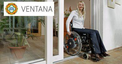 Ventana | Schuifdeuren met lage opstap