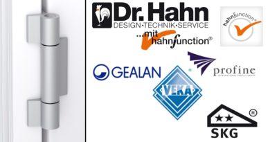 Dr Hahn | KT-RF voor Profine, Gealan en Veka
