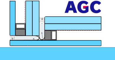 AGC | Glas op glas hoekverbinding