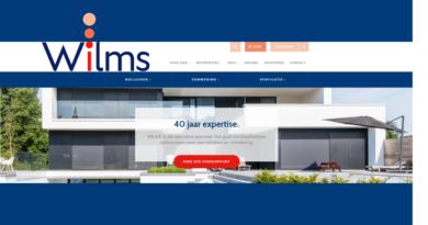 Wilms | nieuwe website