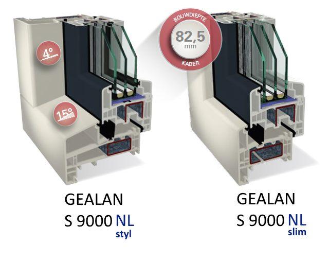 Doorsnede S9000 NL