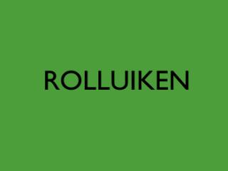 Rolluiken