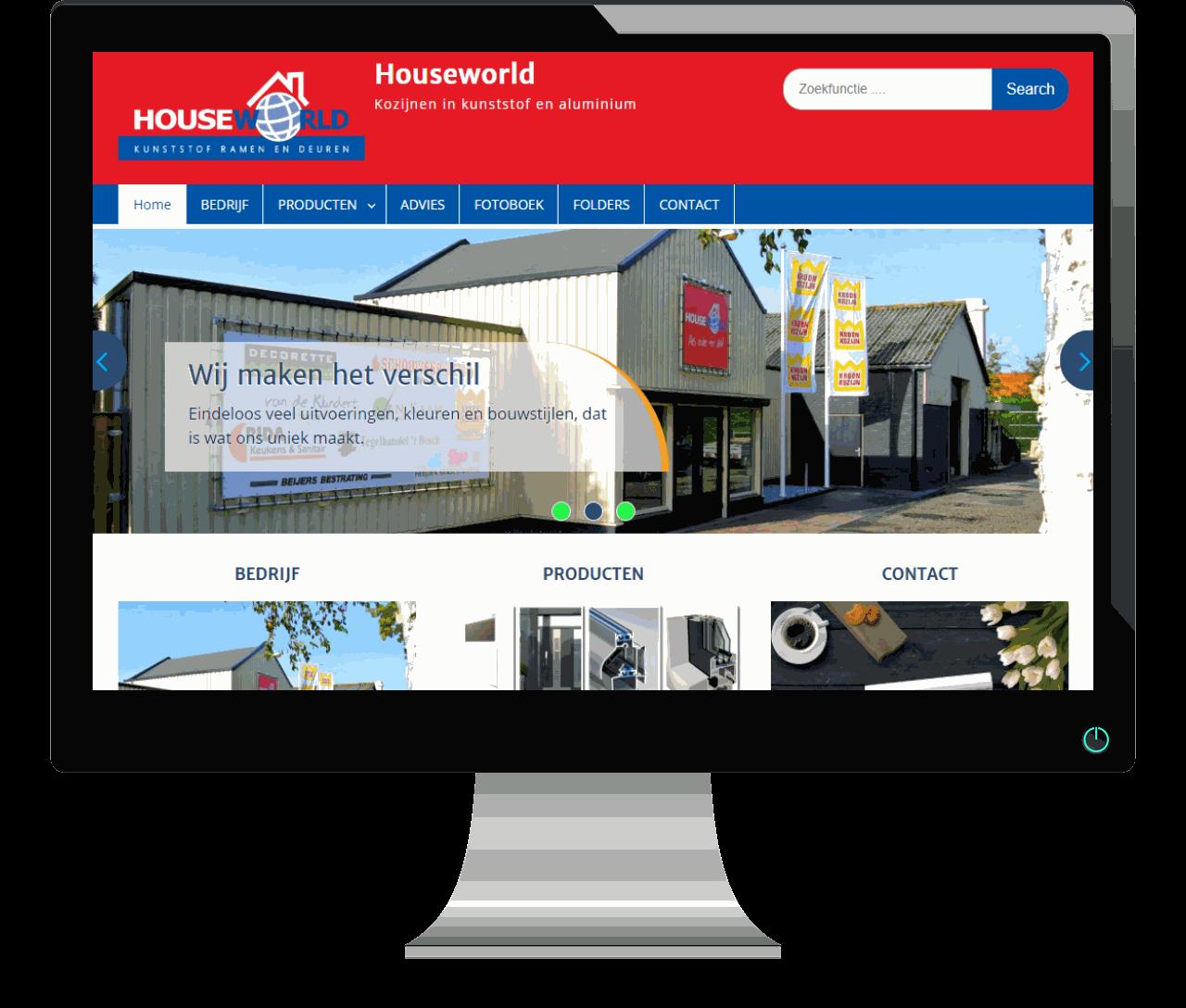 Website Houseworld