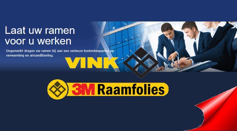 3m Raamfolies Vink
