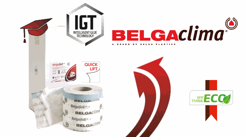 Luchtdicht bouwen met Belgacilma