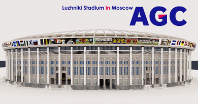 Luzhniki Stadium in Moscow by AGC