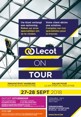 Lecot on tour 2018