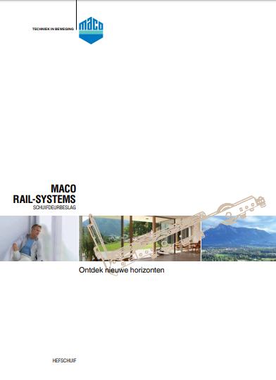 Hefschuifdeur Maco Folder