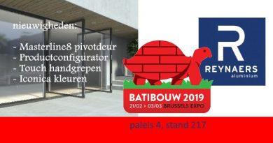 Reynaers @ Batibouw 2019