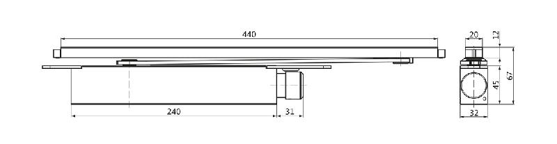 VTS 735 deurdranger