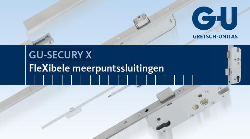 GU-SECURY X  |  FleXibele meerpuntssluitingen