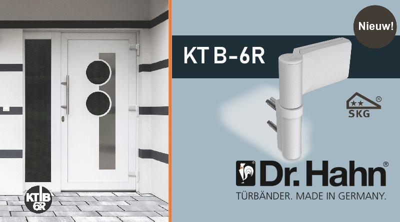 Dr. Hahn | KT-B 6R nieuwe scharnier voor blokprofielen