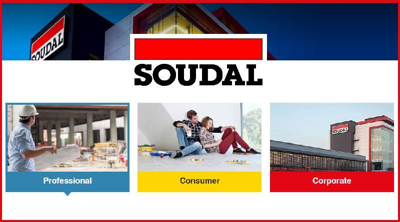 Soudal lanceert nieuwe website