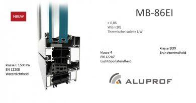 MB-86EI: Systeem brandwerende ramen