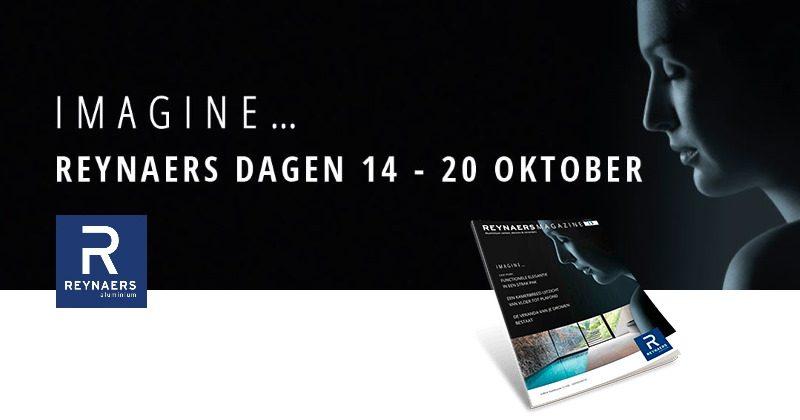 Reynaers Dagen van 14 tot 20 oktober