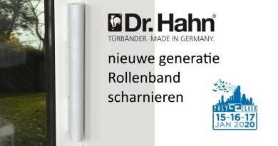 Dr. Hahn, nieuwe generatie Rollenband scharnieren