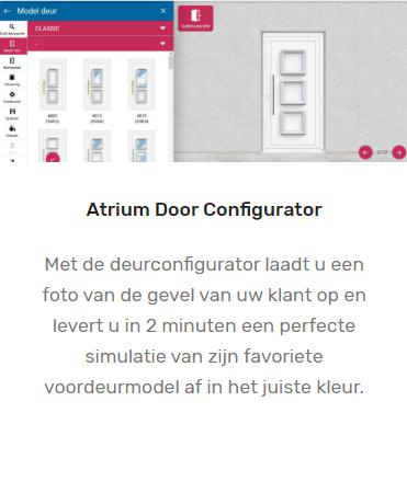 Atrium Door Configurator