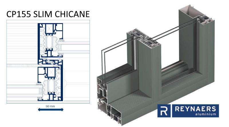 CP155 SLIM CHICANE