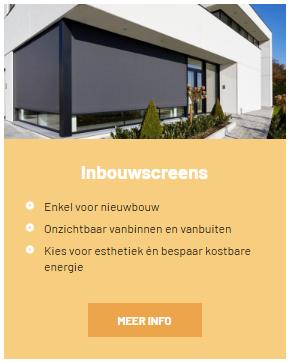 inbouw screens wilms