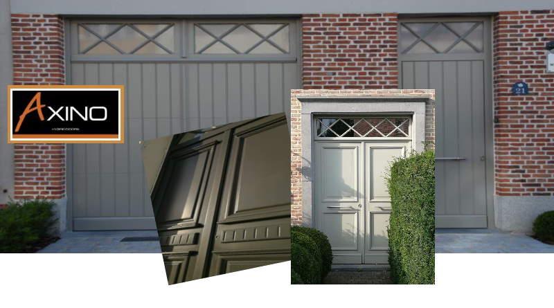 Axino, Hybride buitendeuren