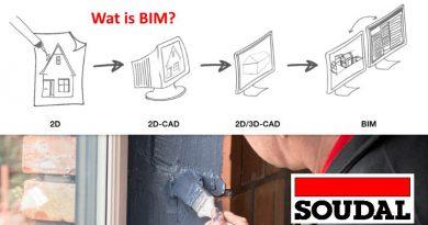 SOUDAL 4.0 gaat digitaal met BIM